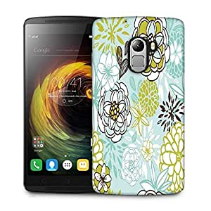 Snoogg retro floral seamless background romantic seamless pattern in vector Designer Protective Back Case Cover For Lenovo K4 Note