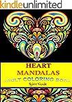 Adult Coloring Book: Heart Mandalas S...