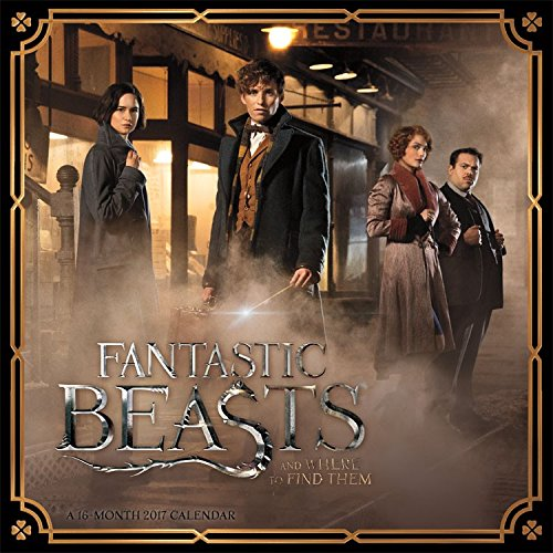 2017 Fantastic Beasts 12 x 12 Wall Calendar