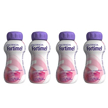 Fortimel Protein Supplement Strawberry Pack 4 X 200ml