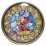 Disney 壁掛け 時計 アナログ 表示 可愛い ディズニー キャラクター インテリア 雑貨 クロック (ミッキー)