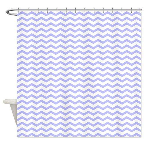 Best Purple Chevron Shower Curtain