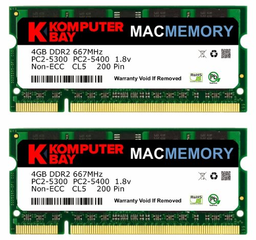KOMPUTERBAY 8GB 2X4GB DDR2 Certified Memory for DELL POWEREDGE 1900 A2257179 DDR2 667MHz FBDIMM
