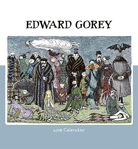 Edward Gorey 2016 Wall Calendar