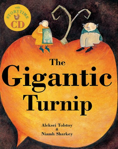 Gigantic Turnip, The (Tell Me a Story) (Hardcover with CD) (Book & CD)