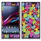 Fincibo (TM) Sony Xperia Z Ultra Togari C6802 C6806 C6833 Accessories Skin Vinyl Decal Sticker - Cute Owls In Forest