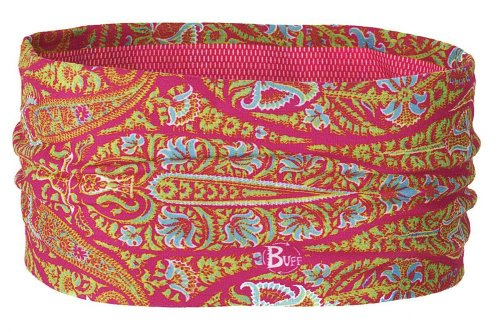Buff UV Headband, Color:Pink/Green/Teal, OS