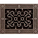 """Decorative Grill Register, Vent Cover. Decorative Grille made to fit over a 6"""" x 8"""" duct opening. Total size of vent is 08"""" x 10"""" x 3/8"""". Prefect for Wall and Ceiling Supply Grills , Vent Register, Return Air Covers, Return Grilles and Grates"""