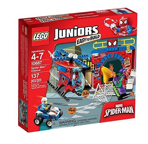 LEGO Juniors 10687 - Il Nascondiglio di Spider Man