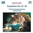 Mozart: Symphonies Nos. 15 - 18