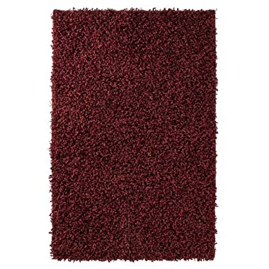 Product Image Home Red Chunky Shag Rug Collection