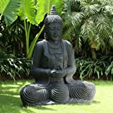 Large Garden Statues - Praying Thai Buddha Stone Sculpture