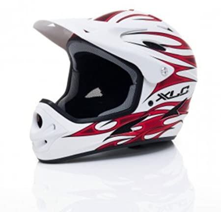 XLC Pro Freeride-Fahrradhelm BH-F0257-58 cm weiß