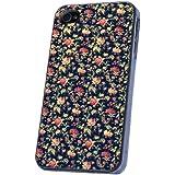 Jahrgang Roses Flowers Retro Shabby Chic Vintage Design iphone 4 4S Case Back Cover Metall und Kunststoff-L�schen Frame