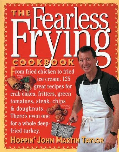 The Fearless Frying Cookbook front-153189