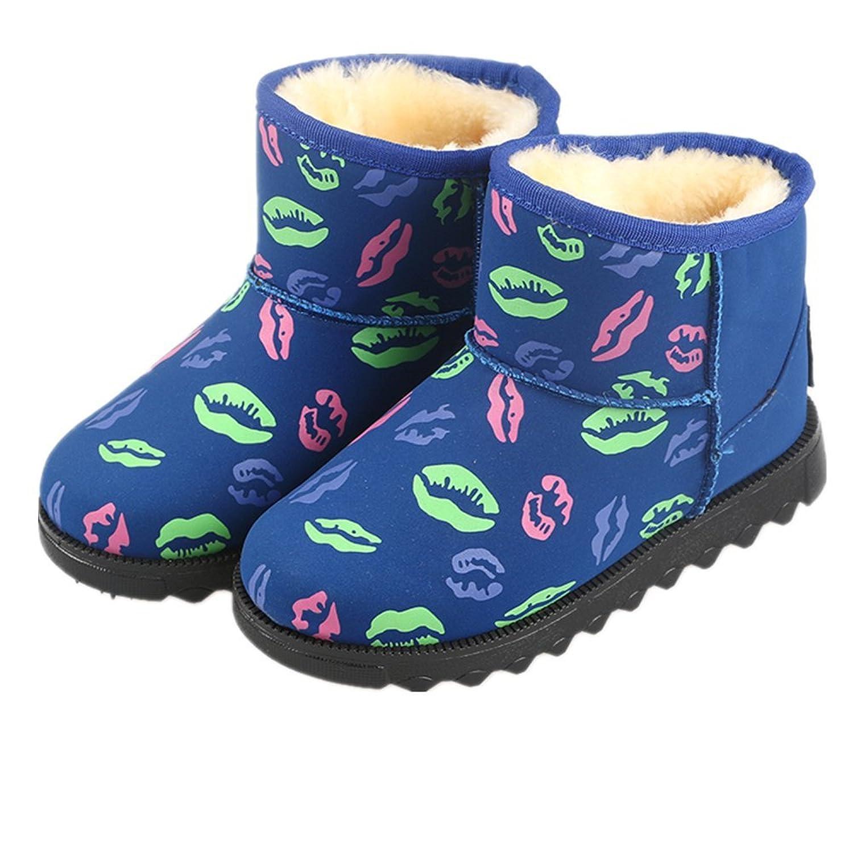 Creative-Lippen Winter warm Anti-Rutsch snow boots/Schneestiefel Kinder-Schneeschuhe Jungen Stiefel Mädchenbaumwollstiefel Kinder warmen Baumwollstiefel Fashion Kinder Schuhe günstig kaufen