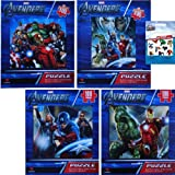 4-Pack Marvel The Avengers Heroes Puzzle...