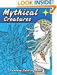 Mythical Creatures Fantasy Coloring B...