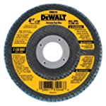 "DEWALT DW8310 4-1/2"" x 7/8"" 120 Grit..."
