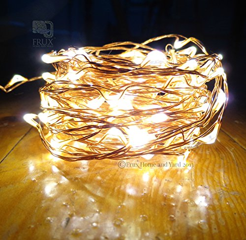 Prime Fairy Star String Lights - 39ft Extra Long LED Copper Wire All Season Decor Lighting ...