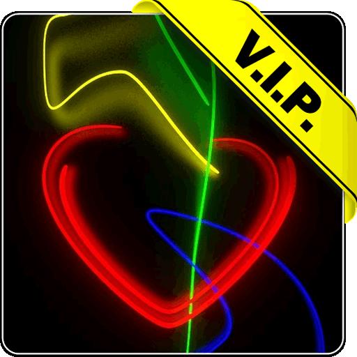 Neon Love Live Wallpaper