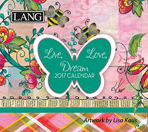 Lang 2017 365 Daily Thoughts Live Love Dream, 3.25 x 3 inches (17991015506) (Daily Calendar Positive compare prices)