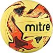 Mitre Tactic Fluo Training Ball - Yellow/Black/Red - 4