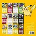 Official Pokemon 2016 Square Calendar