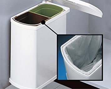 duo 3416 wei abfallsammler trennsystem m lleimer. Black Bedroom Furniture Sets. Home Design Ideas