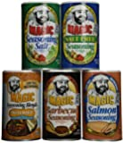 Chef Paul Prudhomme's Magic Seasoning Blends ~ Magic Mutli-Pack, Qty. 5 Canisters