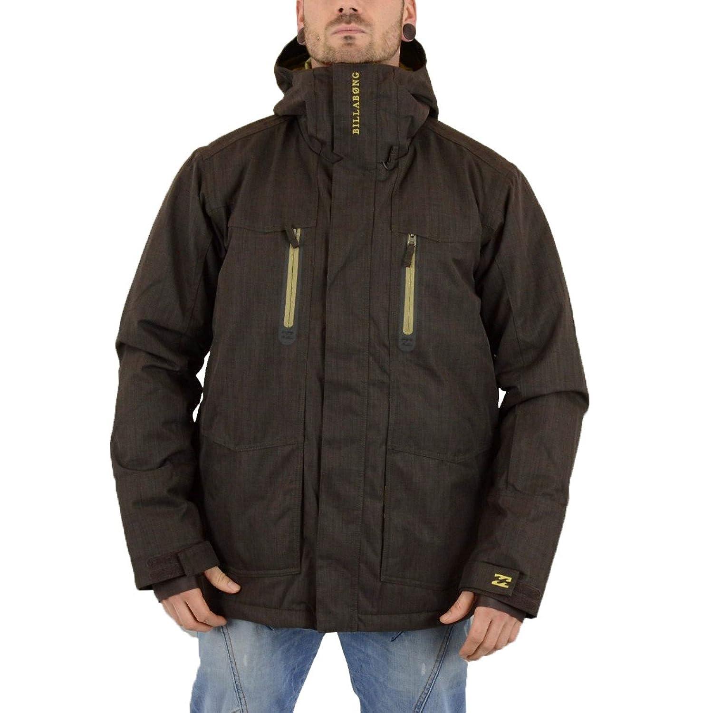 Billabong Herren Snowboard Wintersport Jacke 10K Solid braun - fällt 1 grösser aus