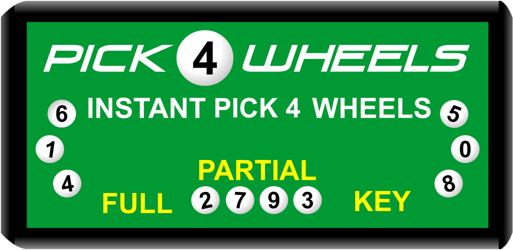 Lotto wheel generator