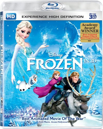 Upto 60% Off On Oscar Winning Movies By Amazon | Frozen (3D) @ Rs.899
