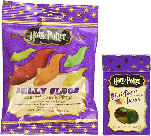 Jelly Belly Harry Potter Bertie Bott's & Jelly Slugs Candy Pack (Crazy Jelly Beans compare prices)