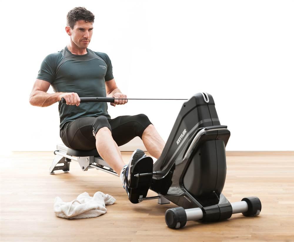 Kettler Coach E Rowing Machine Smart Monkey Fitness