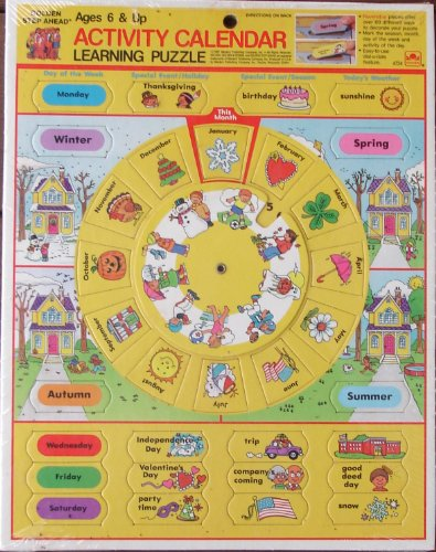 Activity Calendar Learning Puzzle - 1