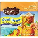 Celestial Seasonings Peach Iced Tea, 40 Count (Pack of 6)