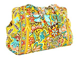 vera bradley make a change baby bag provencal diaper tote bags baby. Black Bedroom Furniture Sets. Home Design Ideas