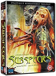 Subspecies DVD Trilogy [Non USA PAL Format]