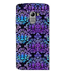 PrintDhaba Floral Design D-2059 Back Case Cover for LENOVO K4 NOTE A7010 (Multi-Coloured)