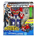 Optimus Prime Transformers Prime Beast Hunters #001 Voyager Class Action Figure