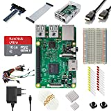 Get Your First Taste Of raspberry Pi with this Ultimate Starter Kit from Vilors.  This Is the Raspberry Pi 3 Model B Ultimate Starter Kit From Vilros  It includes the new Raspberry Pi 3 Model B (Latest Version Released on 02/29/2016) Raspberr...