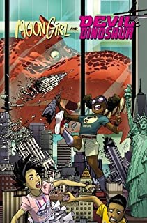 Book Cover: Moon Girl and Devil Dinosaur Vol. 2: Cosmic Cooties
