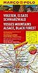 MARCO POLO Karte Vogesen, Elsass, Sch...