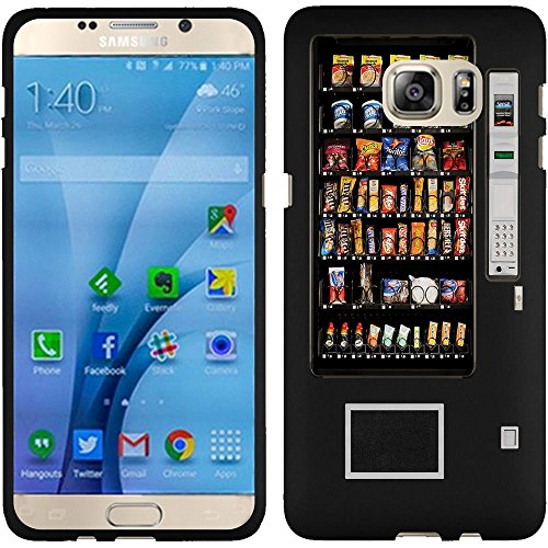 Samsung Galaxy S7 Case, Slim Fit Hard Phone Cover Case by URAKKI - Samsung Galaxy S7 G930 [Black Retro Vending Machine Design] Case (Phone Charging Vending Machine compare prices)