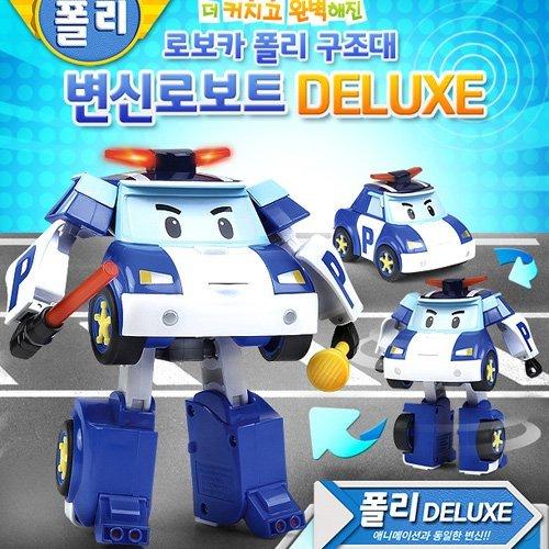 Robocar Poli Deluxe Transformer Toy - Poli