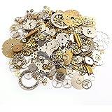 50g Pièces de montres roues dentées rouage STEAMPUNK CYBERPUNK artisanat bijoux