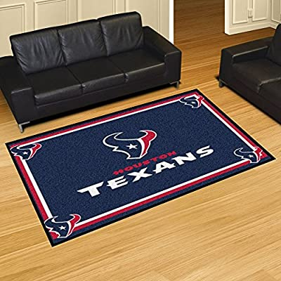 Fan Mats 6578 NFL - Houston Texans 5' x 8' Area Rug
