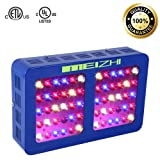 MEIZHI LED Grow Light Reflector Series 300W Full Spectrum for Indoor Plants Veg and Flower Dual Growth and Bloom Switches (Color: Blue, Tamaño: 300W)