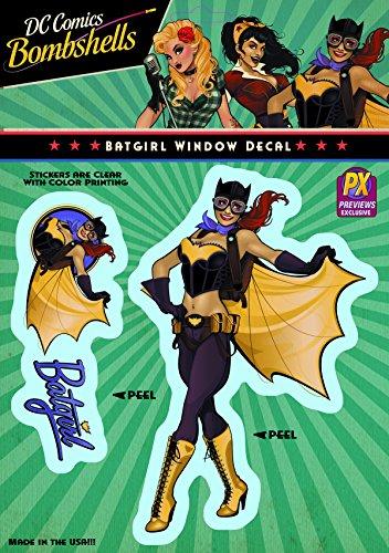 Elephant Gun DC Bombshells: Batgirl Vinyl Decal